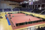 Встреча сборных Грузии и Финляндии по теннису на Кубок Дэвиса