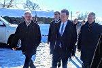Председатель ОБСЕ Себастьян Курц в Эргнети
