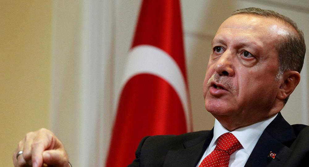 თურქეთის პრეზიდენტი რეჯეფ თაიიფ ერდოღანი