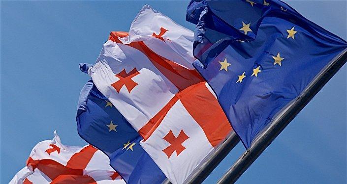 ВБрюсселе подписано соглашение междуЕС иГрузией обезвизовом режиме