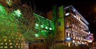 Ночной Тбилиси зимой