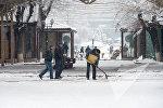 თოვლიანი ერევანი