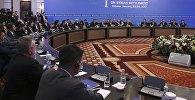 Участники переговоров по сирийскому урегулированию в Астане
