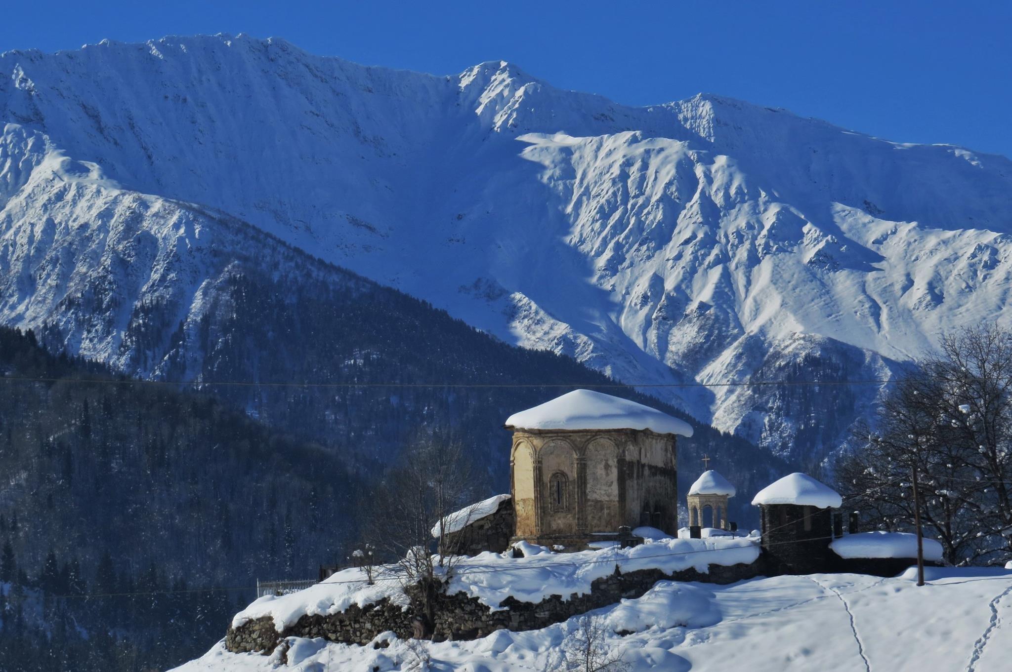 Храм в селе Латали, Сванети