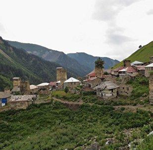 სოფელი სვანეთში