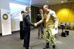 BP награждает сотрудников МВД Грузии