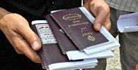 პასპორტების შემოწმება