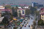 Вид на город Цхинвали