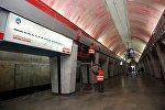Ремонтные работы в тбилисском метро