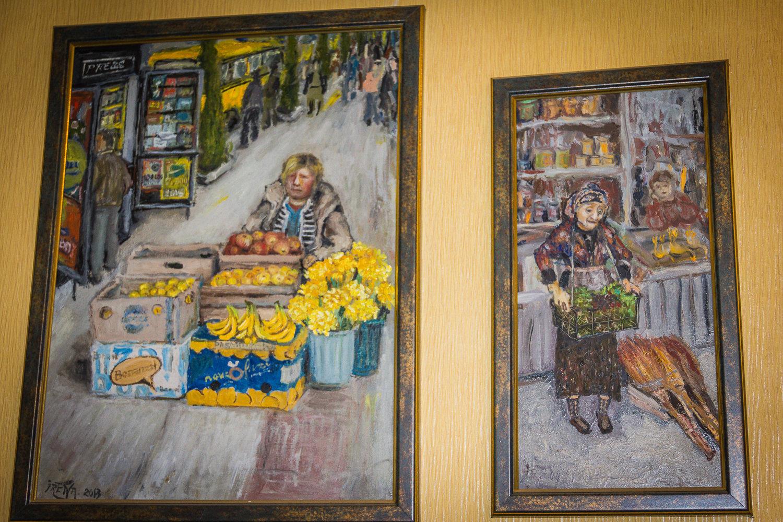 Картины Ирены Оганджановой