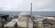 Общий вид атомной электростанции во Фламанвиле, Франция