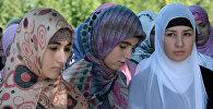 Акция Как должна одеваться чеченская женщина в Грозном