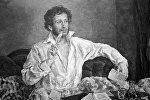 Репродукция портрета Александра Пушкина