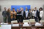 Запуск программы по обучению русскому языку для иностранных волонтеров в Институте Пушкина