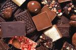 Композиция из кусочков шоколада
