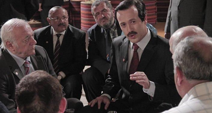 Кадр из турецкого фильма Правитель