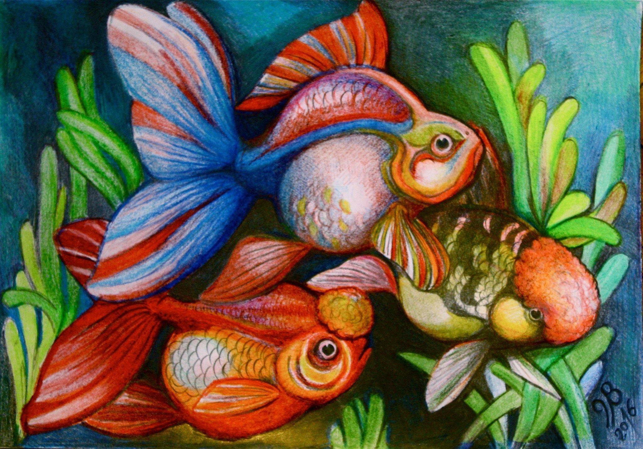 იუზა ბერაძის ნახატი