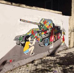 Стрит-арт Gagosh посвящен социальным темам