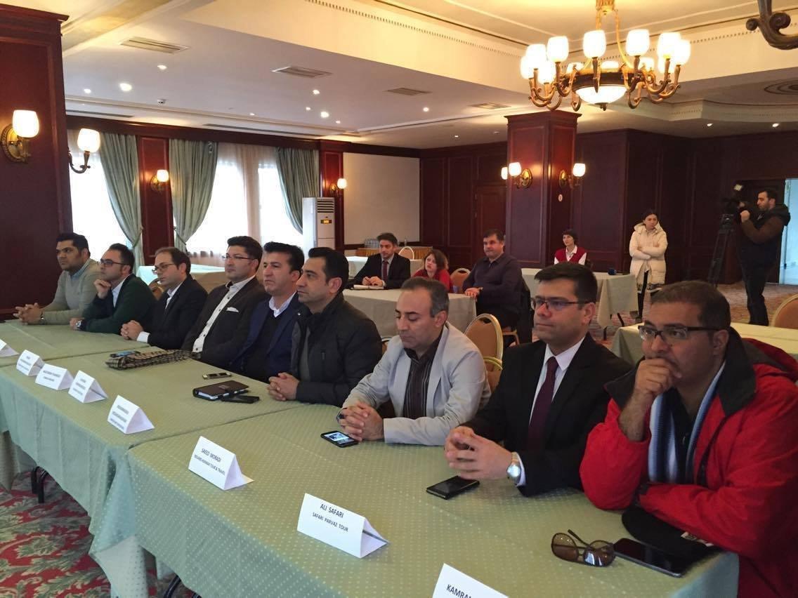 Представители туристических компаний Ирана в Батуми