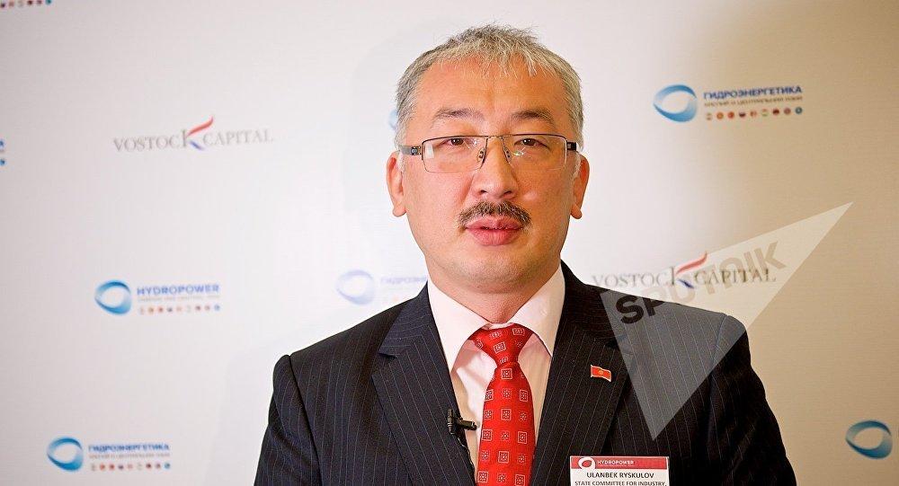Заместитель председателя Государственного комитета промышленности, энергетики и недропользования Республики Кыргызстан Уланбек Рыскулов