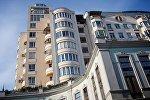 Один из жилых домов в центре Тбилиси