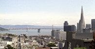Вид на город Сан-Франциско