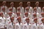 Хор народной полиции Китая поет Сулико