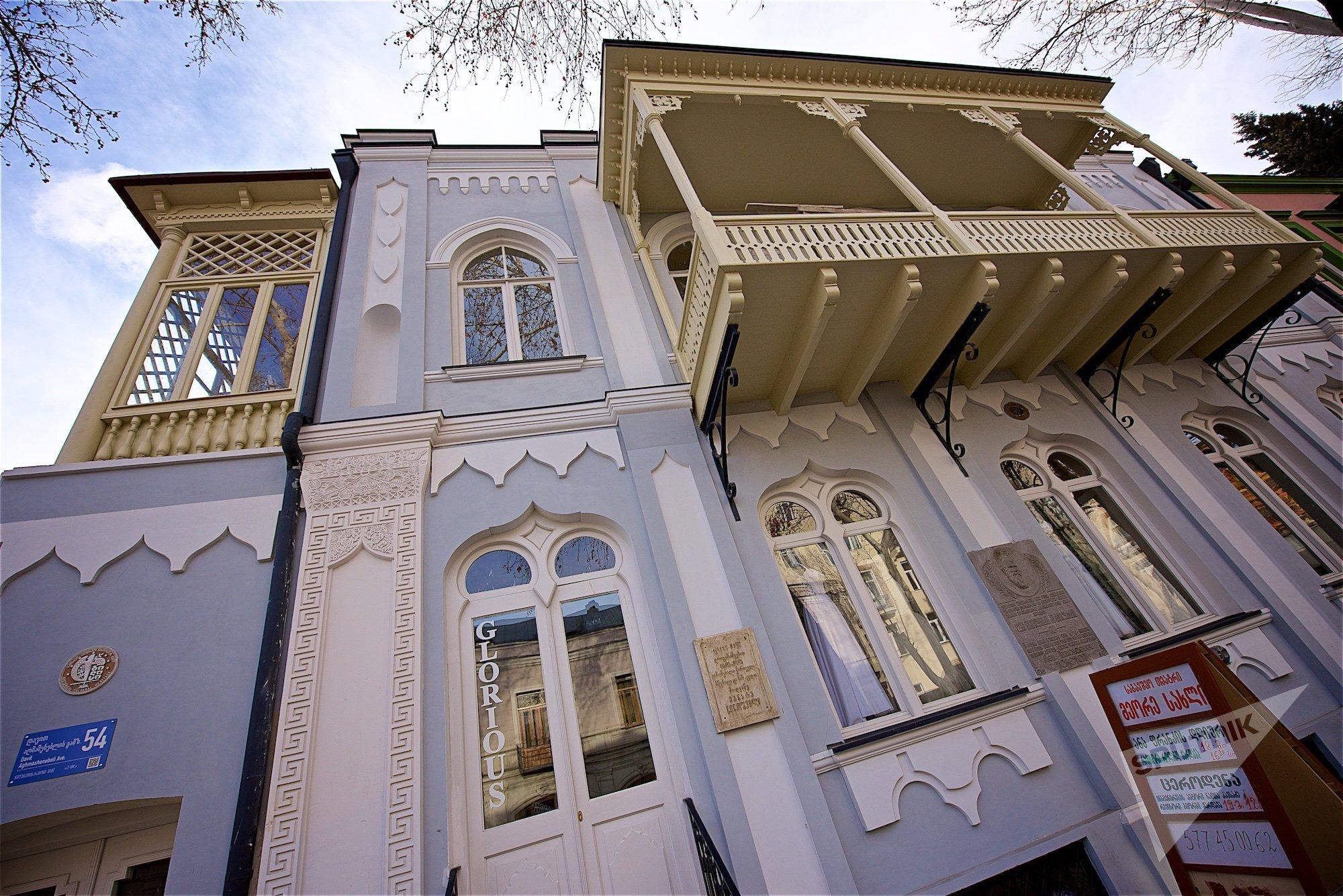 Дом в историческом центре Тбилиси, где жил Лев Толстой