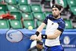 Теннис. Николоз Басилашвили на турнире в Мемфисе