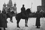 Парад на Красной площади революционных войск 4 (17) марта 1917 года
