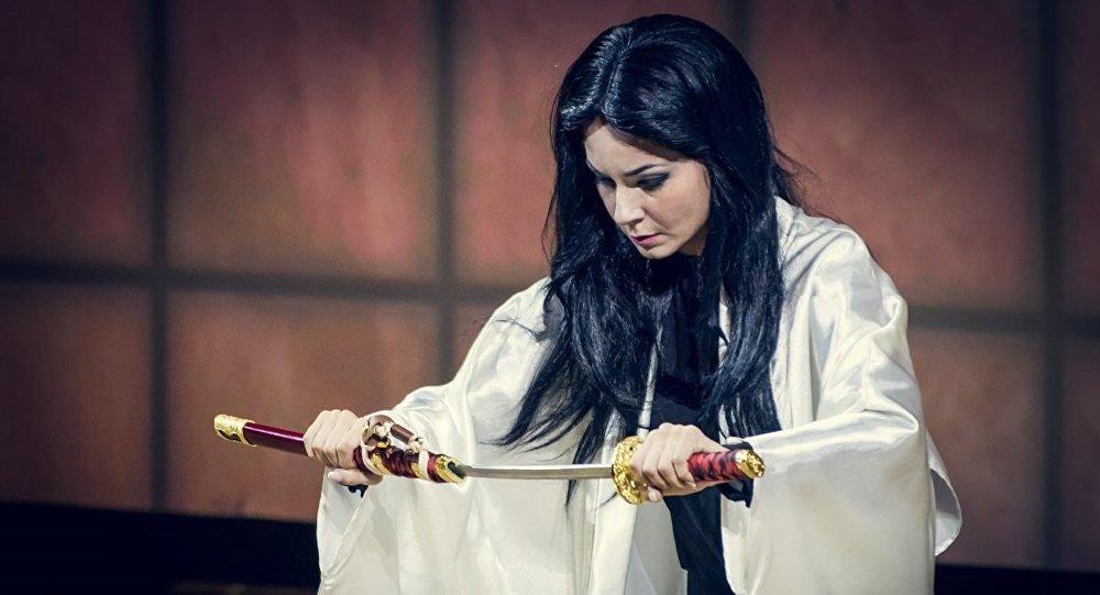 Певица Амалия Гогешвили в опере Мадам Баттерфляй