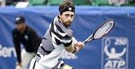 Первая ракетка Грузии Николоз Басилашвили на турнире в Мемфисе