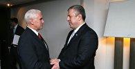 Вице-президент США Майк Пенс и премьер Грузии Георгий Квирикашвили