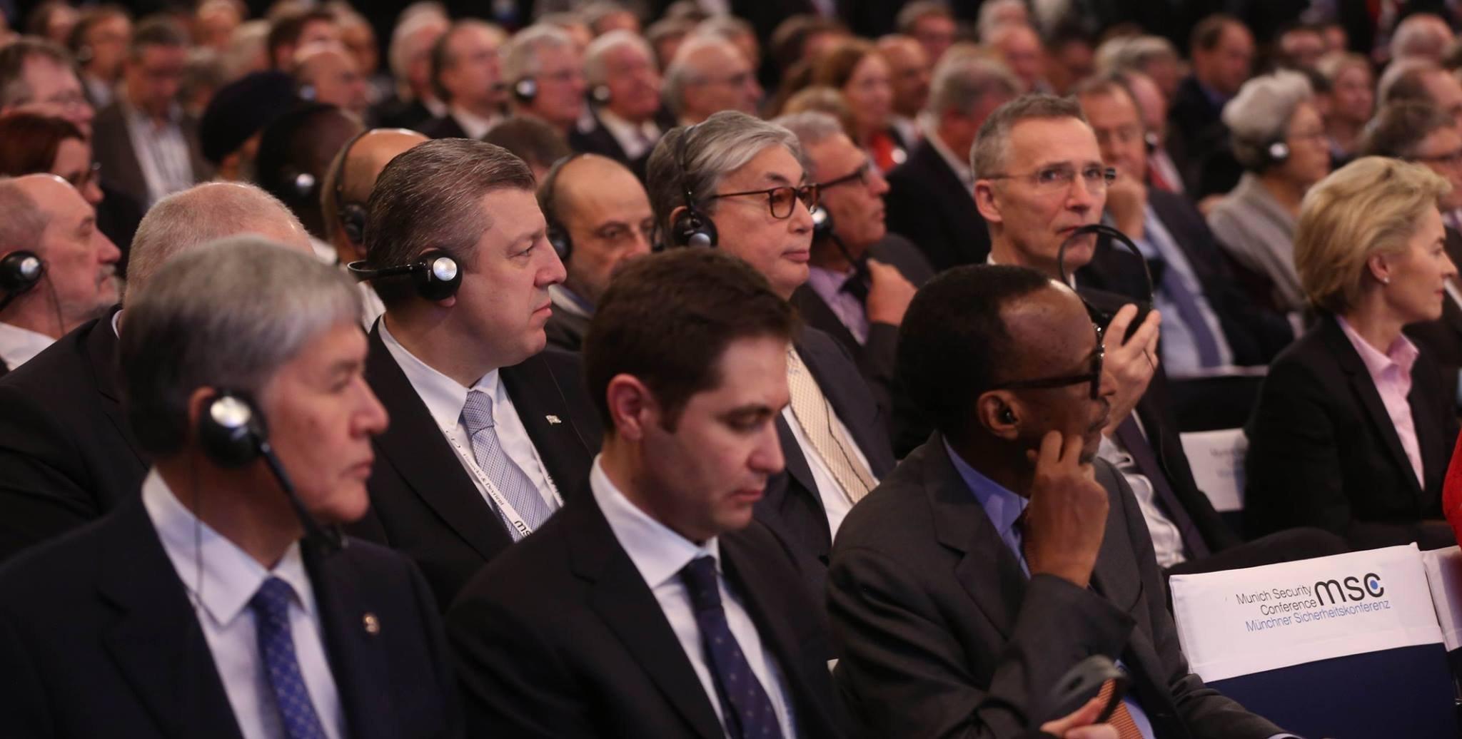 Премьер Грузии Георгий Квирикашвили на Мюнхенской конференции по безопасности