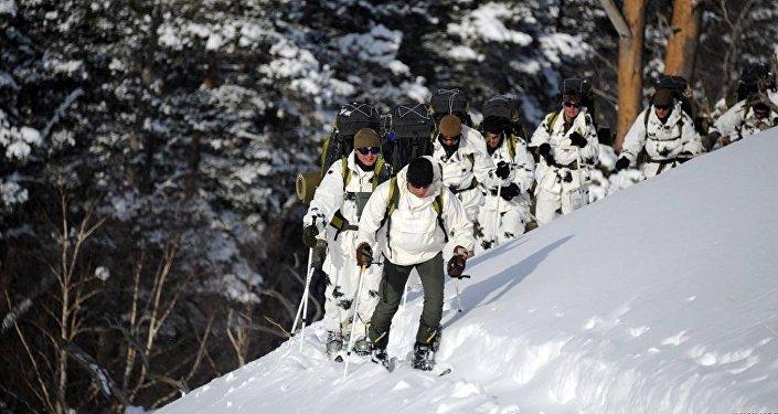 Зимний курс базисной горной подготовки в ВС Грузии