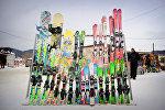 Горные лыжи - на зимнем курорте Бакуриани