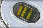 Стадион Лужники с птичьего полета