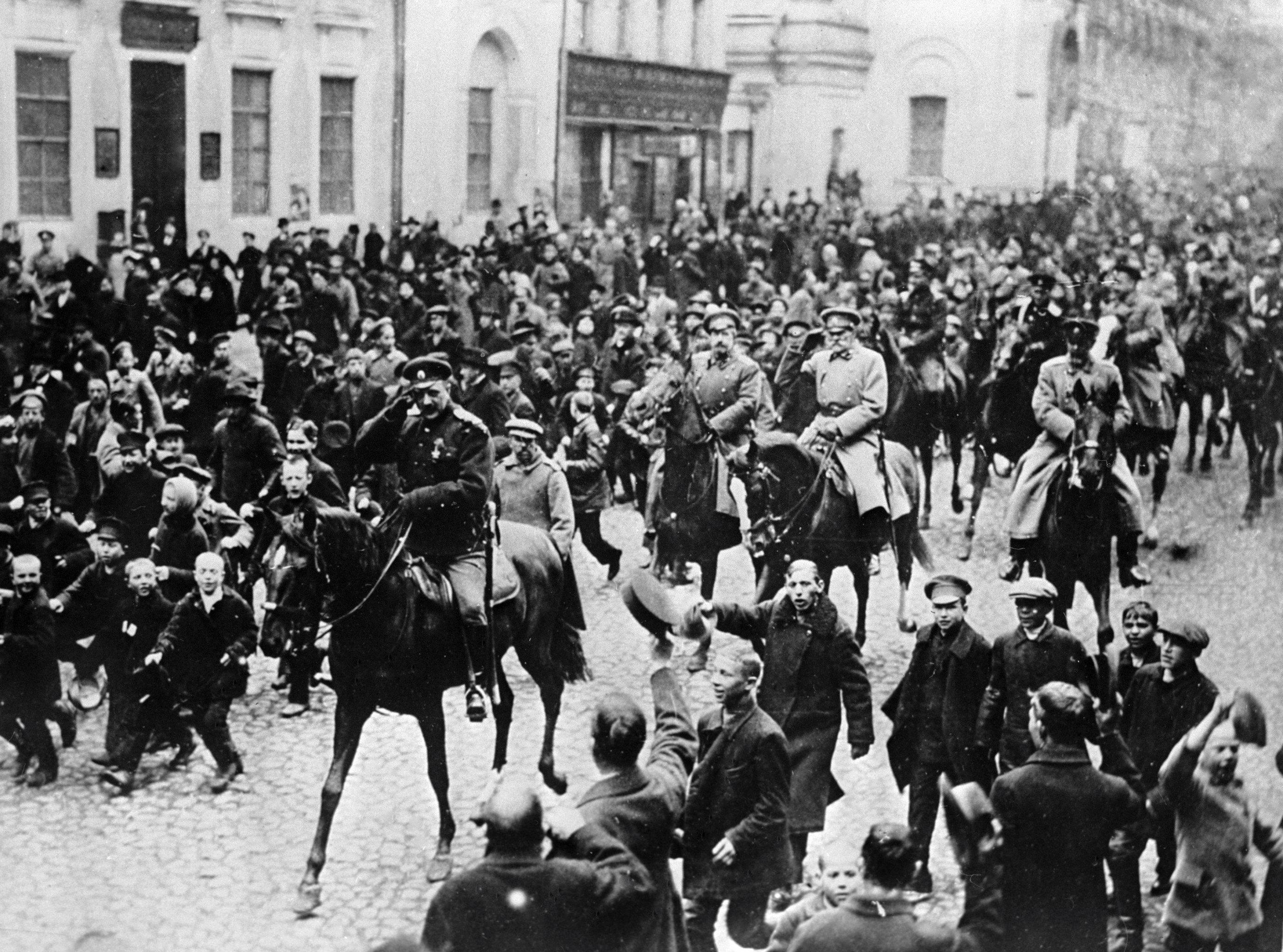 Февральская революция причины ход и итоги революции Февральская революция