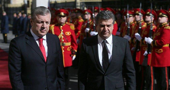 Премьер Армении обсудит вТбилиси развитие двусторонних отношений
