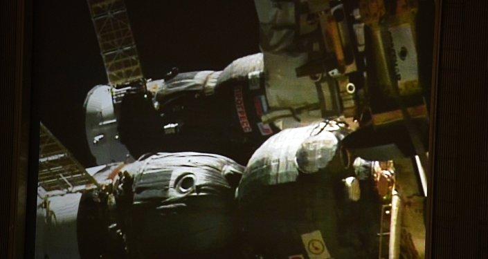 Стыковка грузового корабля Прогресс МС-05 с МКС