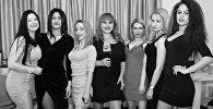 Участницы конкурса Мисс Бюст 2017 в Грузии