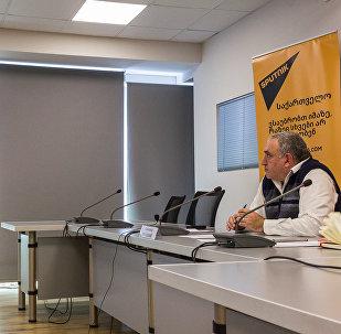 Видеомост Тбилиси – Ереван с участием экспертов в Тбилисском международном пресс-центре