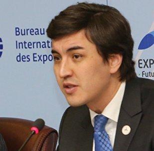 Директор департамента по работе с международными участниками нацкомпании Астана ЭКСПО-2017 Илья Уразаков