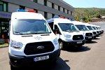 Машины для конвоирования заключенных в Грузии