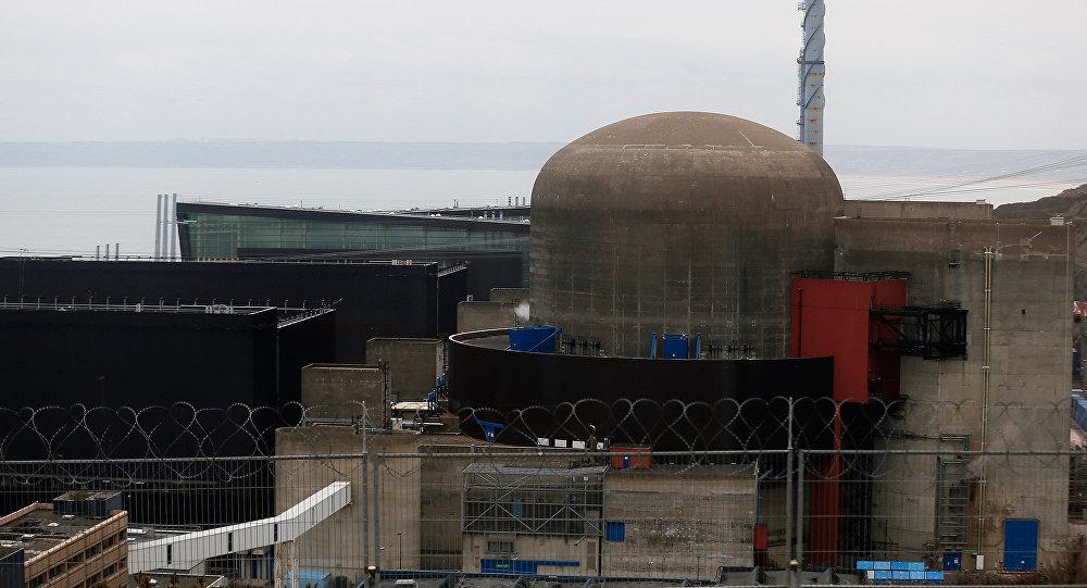 Реактор атомной станции во Франции Flamanville 1