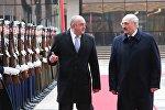 Президент Грузии Георгий Маргвелашвили встретился со своим белорусским коллегой Александром Лукашенко