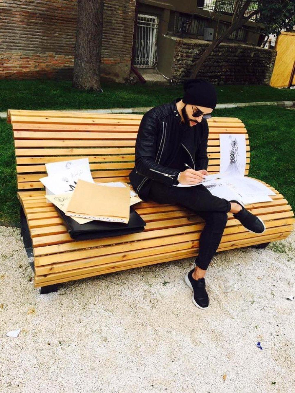 მომღერალი მარკუს მეტრეველი პირველ სამოდელო კოლექციას ამზადებს