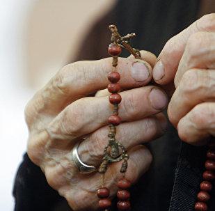 მოხუცი ლოცვისას