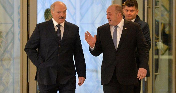 Руководитель МИД Грузии прибыл свизитом вБеларусь