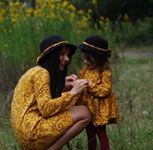 ნათია კუპრეიშვილი და მისი ქალიშვილი მართა